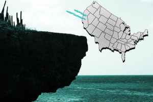 How to Physically 'Cliff' A Nation